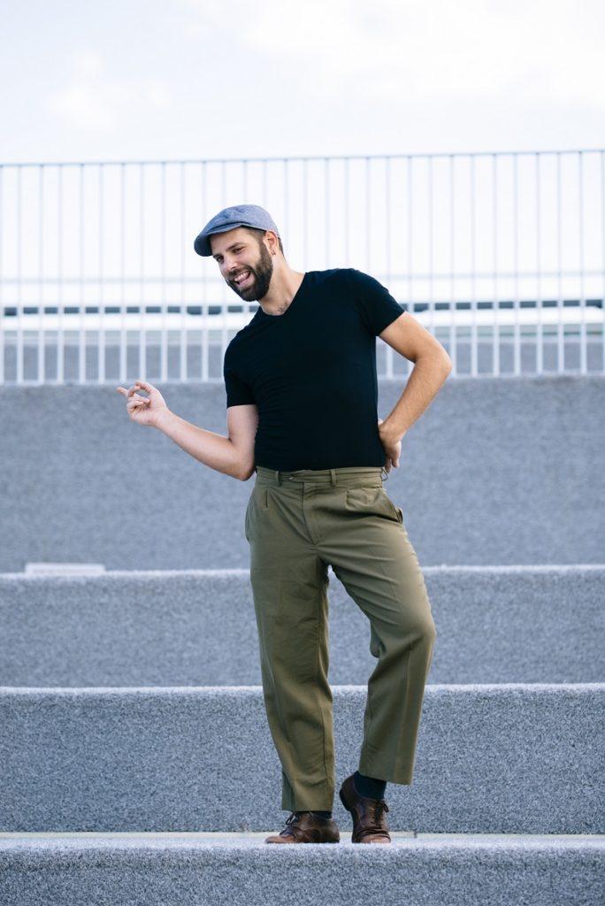 Profesor Pablo Aguilar escuela de baile swing