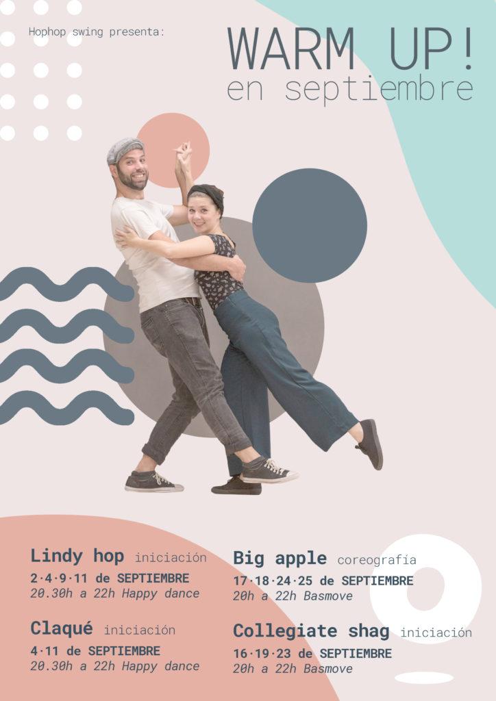 Aprende a bailar swing con el warm up de septiembre