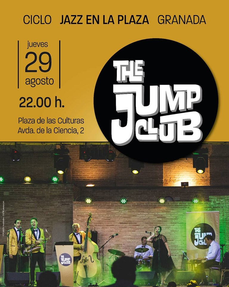 Concierto swing con The Jump Club en Granada