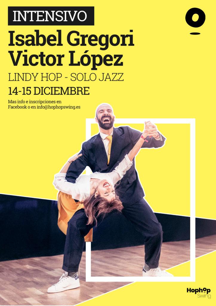 Primer intensivo de Swing en Granada Victor Lopez e Isabel Gregori